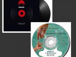 CDs/DVDs/Vinyls/SACDs